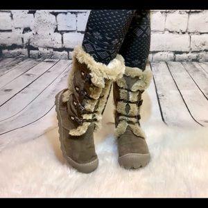 Earth Boot Kalso Sz 9 winter thinsulate Eskimo fur